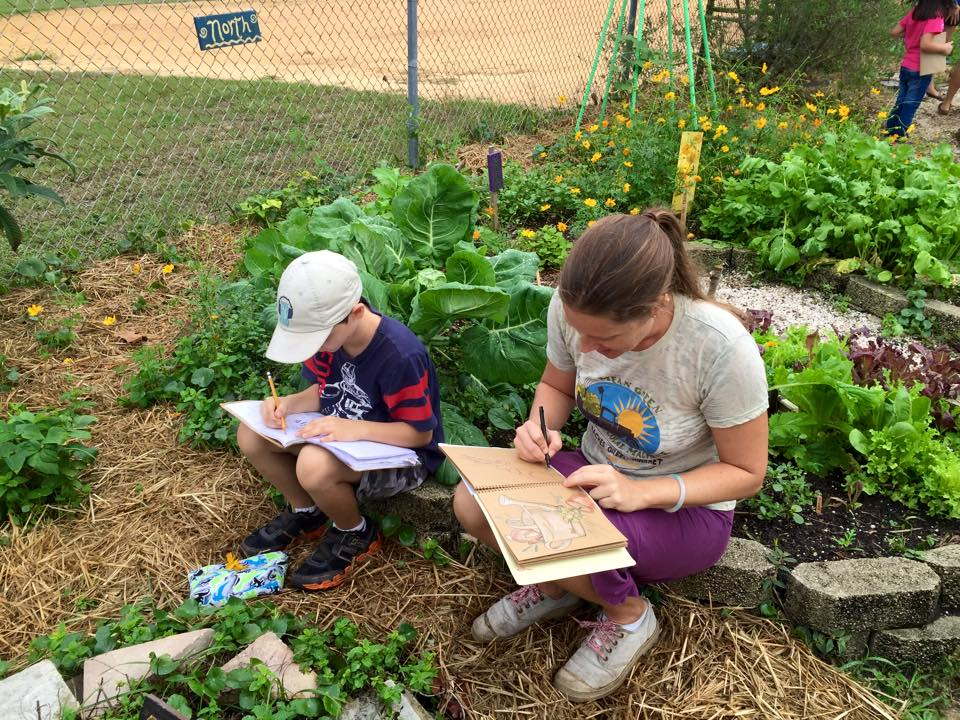 All Ages can learn to nature journal the fun and relaxing way with Wings, Worms, and Wonder!