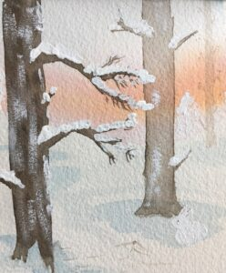 Bring the beauty of nature inside with an original, hand painted, watercolor painting! Light, airy, and waiting to inspire pops of nature into your everyday with Wings, Worms, and Wonder!