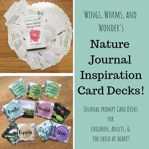 Nature Journal Inspiration Card Decks