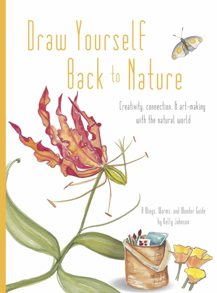 Draw Yourself Back to Nature is ready to Celebrate creating with Lughnasa and WIngs, Worms, and Wonder! Click for nature inspired ideas!